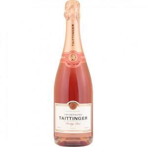 00268 Taittinger Brut Rosé Prestige Hvid Etiket eget foto 2018