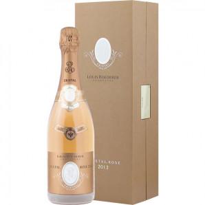 00550 Cristal Rosé Louis Roederer 2012 flaske og kasse