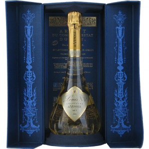 01272 de Venoge Champagne Louis XV Vintage 2008 åbne kasse