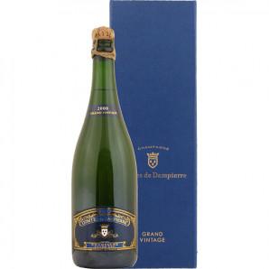 01422 Dampierre Vintage 2008 Grand Cru flaske og Gaveæske