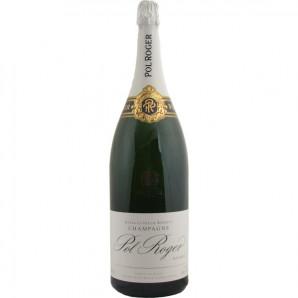 01490 Pol Roger Brut Extra Cuvée Reserve Champagne 3 Liters