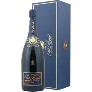 01899 Pol Roger Winston Churchill 2009 Magnum flaske og kasse