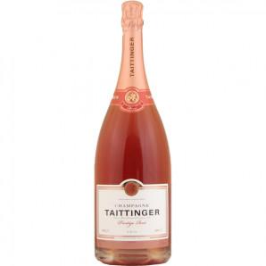 01949 Taittinger Prestige Rosé Magnum Hvid etiket