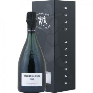 02477 Pierre Gimonnet Special Club 2012 Choully Grand Cru æske flaske