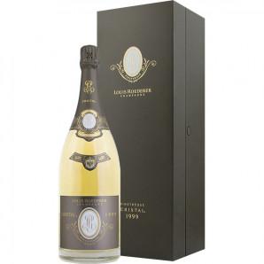 02610 Cristal 1999 Vinotheque Magnum Flaske og kasse