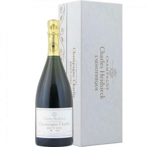 02642 Charles Heidsieck Charlie L'Oenotheque 1981 Vinotheque flaske og kasse