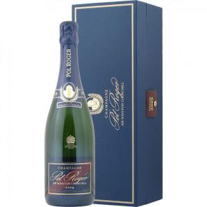 02678 Pol Roger Winston Churchill 2009 flaske og kasse