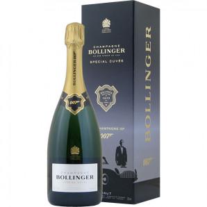 02839 Bollinger Special Cuvée 007 Limited Edition flaske og æske