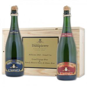 02853 Dampierre 2-pak med flasker