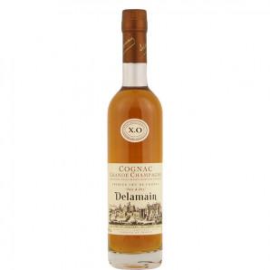 09021 Cognac Delamain XO ½flaske pale and dry