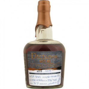 09175 Rom Dictador Rum The Best of 1978 Colombia