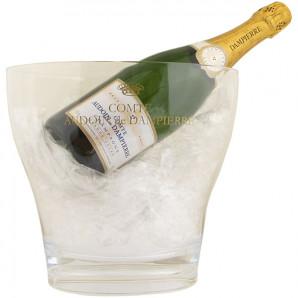 45013 Dampierre Champagne-Køler Aluplast med logo
