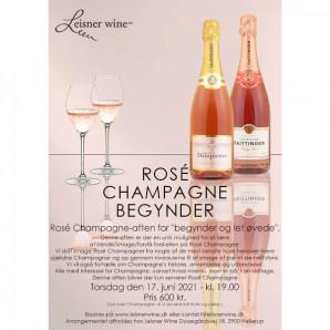 80010 Rosé Champagne begynder Torsdag 17 juni 2021 kl 19