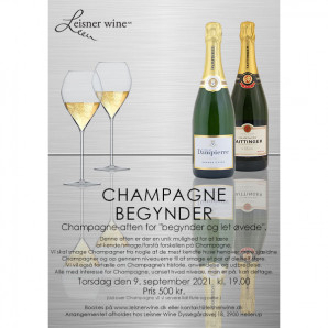 80031 Invitation til Champagne Begynder 9 september 2021