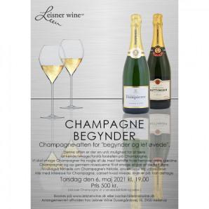 80035 Invitation til Champagne Begynder 6 maj 2021
