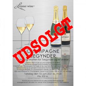 80044 Invitation til Champagne Begynder 10 juni 2021