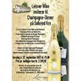 80052 Invitation til champagne-dinner 22 september 2022 Cristal og Comtes udsolgt