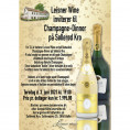 80052 Invitation til champagne-dinner 3 juni maj 2021 Cristal og Comtes med Udsolgt