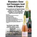 80054 Invitation til Winemakers Dinner med Dampierre 5 maj på Kong Hans Kælder