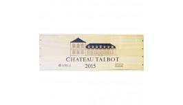Chateau Talbot 2015, Dobbelt magnum, 4. Cru Saint-Julien, Bordeaux, Frankrig