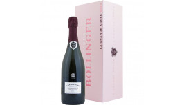 Bollinger La Grande Année 2002 Rosé i gaveæske, Champagne, Frankrig