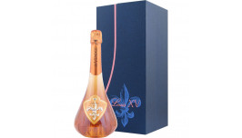 De Venoge Champagne, Louis XV Rosé Vintage 2002 i gaveæske, Champagne, Frankrig
