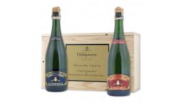 Comtes de Dampierre, 2-Pak, Millésime 2012-Grand Cru, 1 fl. Family Réserve + 1. fl. Grand Vintage, Grand Cru, Champagne, Frankrig