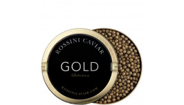 Caviar Rossini Gold Selection 30 g. Farmed